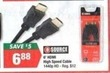 Big Lots Source 6' HDMI High Speed Cable