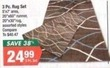 Big Lots 3 Piece Rug Set