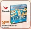 Mills Fleet Farm Cardinal Solid Wood Teasers Game