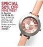 Macys Nine West Watches