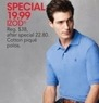Macys Izod Men's Cotton Pique Polos