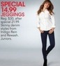 Macys Indigo Rein Juniors' Jeggings