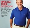 Macys Greg Norman Men's Golf Polos