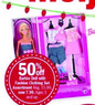 Meijer Barbie Doll w/ Fashion Clothing Set