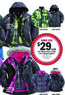Meijer Zero Xposur Girls' 3-in-1 System Jackets