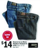 Meijer Reserve by Lee Men's Regular or Relaxed Fit Jeans