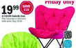 Meijer id Colors Butterfly Chair