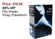 Overstock.com Fifty Shades Trilogy (Paperback)