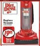 Fred's Dirt Devil Bagless Vacuum