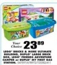 Blain's Farm and Fleet Duplo Large Brick Box