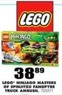 Blain's Farm and Fleet Lego Ninjago Masters of Spinjitzu Fangpyre Truck Ambus