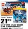 Blain's Farm and Fleet LEGO Starwars Desert Skiff