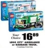 Blain's Farm and Fleet Lego City Garbage Truck