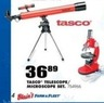 Blain's Farm and Fleet Tasco Telescope/Microscope Set