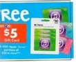 ToysRUs Big Book $5 Gift Card w/ Any iTunes $30 Purchase