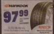 PepBoys Hankook V4ES Performance Tire