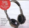 Stein Mart The Sharper Image Wireless Headphones