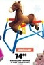 Blain's Farm and Fleet Kiddieland Bounce 'N Ride Plush Pony