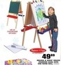 Blain's Farm and Fleet Melissa and Dough Deluxe Standing Easel with One Paper Roll