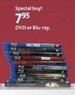 AAFES Assorted DVDs or Blu-rays