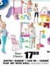 "Blain's Farm and Fleet Assorted Mattel Barbie ""I Can Be"" Career Play Set with Doll"