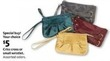 AAFES Criss Cross Small Wristlet (Assorted Colors)