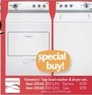 AAFES Kenmore Top-Load Washer and Dryer Set - Electric