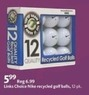 AAFES Links Choice Nike Recycled Golf Balls - 12 Pack