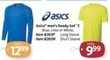 AAFES Asics Men's Ready-Set T - Short Sleeve