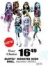 Blain's Farm and Fleet Assorted Mattel Monster High Dolls