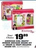 Blain's Farm and Fleet American Girl Crafts Create & Craft Bulletin Board Kit