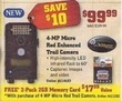 Gander Mountain 2 Pack 2GB Memory Card w/ 4MP Red Trail Camera Purchase