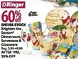 Bealls Brighten the Season Dinnerware, Serveware & Glassware