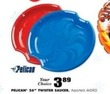 "Blain's Farm and Fleet Assorted Pelican 26"" Twister Saucers"