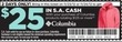 Sports Authority $25 in S.A. Cash w/ $125+ Columbia Purchase w/ Coupon