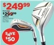 Sports Authority Adams AS OS Hybrid 8 Piece Iron Set