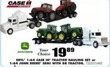 Blain's Farm and Fleet 1:64 John Deere Semi with 8R Tractor