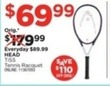 Sports Authority Head TiS5 Tennis Racquet