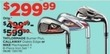 Sports Authority Nike Machspeed X 8-Piece Iron Set