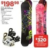 Sports Authority Men's Protocol Snowboard & Icon Bindings