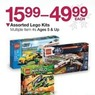 BJs Toy Catalog Assorted Lego Kits