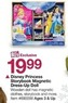 BJs Toy Catalog Disney Princess Storybook Magnetic Dress-Up Doll