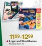 BJs Toy Catalog Logic and Word Games