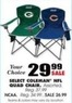 Blain's Farm and Fleet Assorted Coleman NCAA Quad Chair