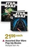 BJs Toy Catalog Assorted Star Wars Pop-Up Books