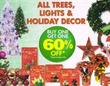 Family Dollar All Trees, Lights & Holiday Decor