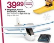 BJs Toy Catalog Megatech Avion-I Electric RC Airplane