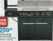 Kmart Thanksgiving Char-Broil  6-Burner Gas Grill with Side Burner