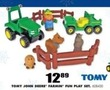 Blain's Farm and Fleet Tomy John Deere Farmin' Fun Play Set