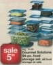 Kmart Thanksgiving Gourmet Solutions 54 Piece Food Storage Set